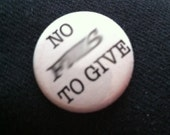 No F's to give -  Button 1 inch
