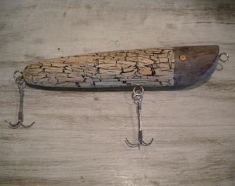 Unique Hand Carved Wooden Fishing Lure