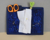 Celestial Navy Sewing Organizer