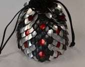 Scalemail Dice Bag of Holding Knitted Dragonhide Venomous
