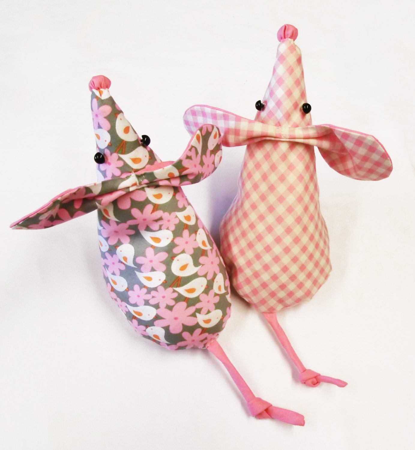 Instant Fabric Door : Mouse doorstop sewing pattern pdf for