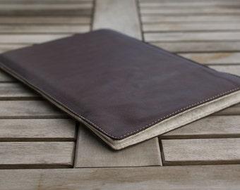 Kindle Fire HD 10 Leather Sleeve - SLIDER ,organic leather