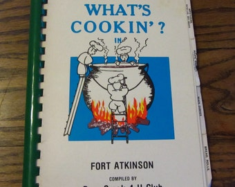 What's Cookin'  in Fort Atkinson vintage cookbook 1979