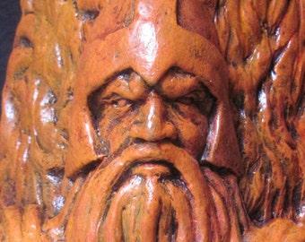 Viking Mascot Statue Figurine