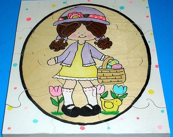 Children's Easter Wooden Jigsaw Puzzle
