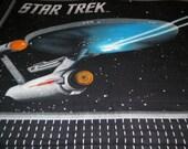 Starship Enterprise Fleece Throw Blanket