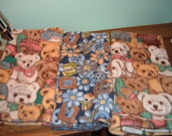 3 Fleece Blanket for Baby