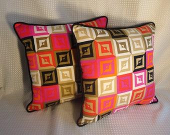 Vintage Hawaiian Textile Pillows