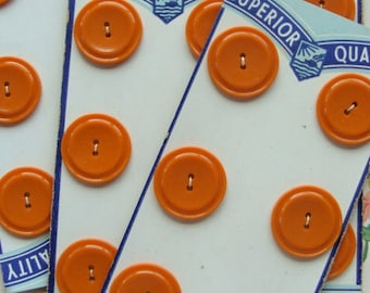 One Vintage  Bakelite  Button set on Original Card