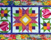4 Holiday Options-Table Runner: New Traditions - Paper Pieced - PDF Pattern