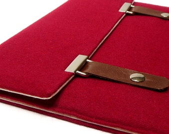 iPad /  iPad Air / iPad Mini case - red wool