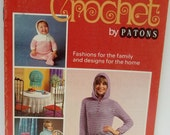 vintage 2nd steps in crochet by Patons pattern book no 179