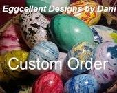 Custom Order for T C Schack