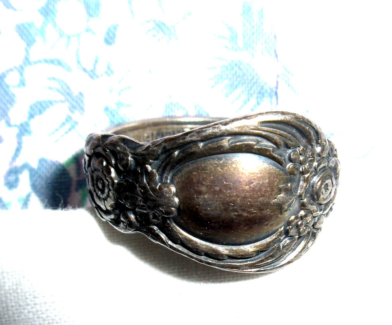 Oneida Sterling Silver Spoon Ring