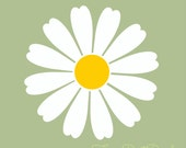 Daisy wall decals Set of 25 each measures 4x4 inches