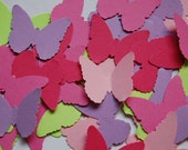 Summer Fun Butterfly Mix Punch Cut Outs -- Set of 50 butterflies -- Ready to Ship
