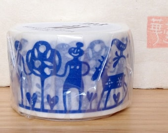 mt washi masking tape - designer collection - mt x BENGT AND LOTTA - Adam and Eve