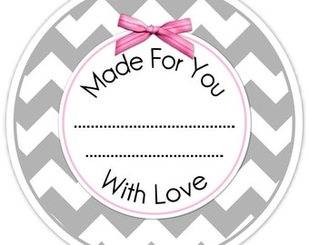 Custom Kitchen Labels or Canning Labels, Made For You Stickers, Personalized Labels, From The Kitchen Stickers