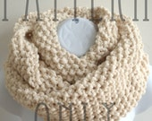 Knit Cowl Pattern - Cowl Knitting Pattern PDF for The READER