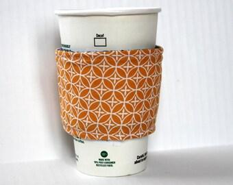 Coffee cozy- orange