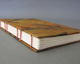 Marbled Earth, Tall Skinny Journal, Ready To Ship