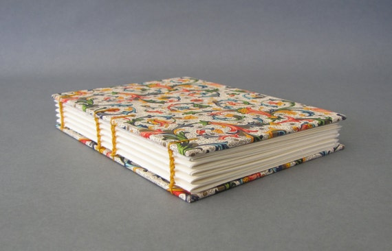 Italian Florentine Small Journal, Ready To Ship