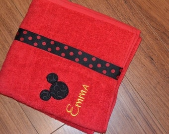 Disney Mickey Mouse or Minnie Towel