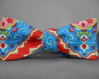 Magical Tradewinds in Red  Bow Tie
