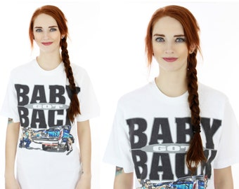 90s Vintage T-Shirt 80s Lowrider Baby Got Back Funny Rare Shirt Medium M Small S
