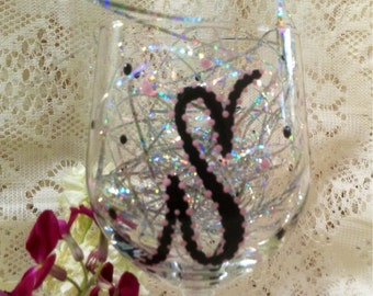 Personalized & Hand Painted Wine Glasses