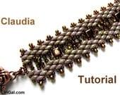 Claudia SuperDuo&Tile Bracelet PDF Tutorial