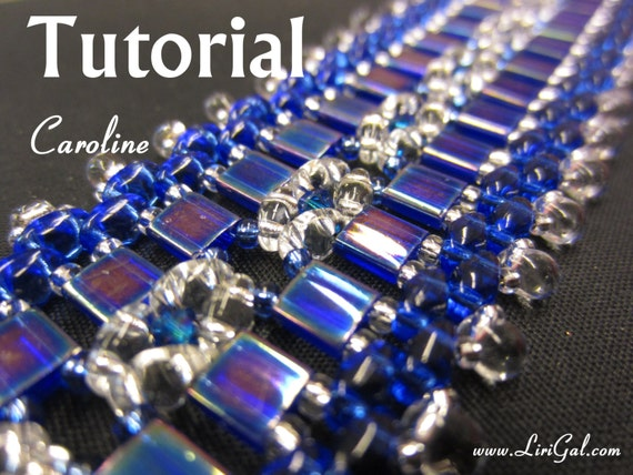 Tutorial Caroline SuperDuo and Tila Beadwork Bracelet PDF