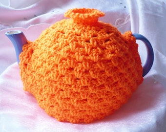 Teapot Cosy 6-8 cup in the colour Orange