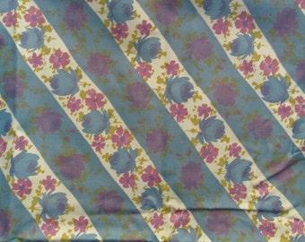 Vintage Cotton Floral Print 1 yard x 36 inches SALE