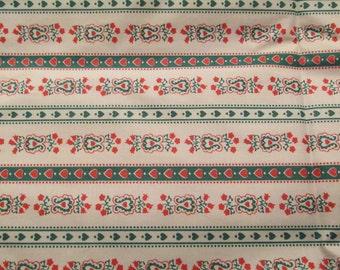 Vintage Cotton Print 1 yard x 35 inches