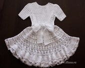 Crochet dress. PDF Pattern . No 82