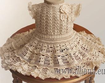 Crochet Dress Pattern / No 59