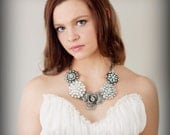 The Collette Vintage Inspired Statement Necklace