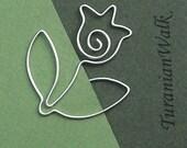 Tulip - wire bookmark