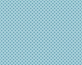 Hooty Hoot Returns Dots in Blue by Riley Blake - 1 Yard