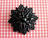 Antique Victorian Mourning Brooch, Dress Pin