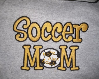 Soccer Mom custom personalized shirt