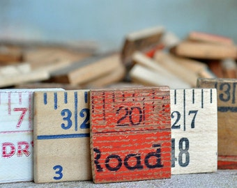 10 vintage ruler cuts...  just in case you could use them... POVT