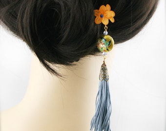 Fengque blossom hair fork (HF)