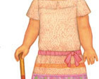 SALE, free shipping Oliver and S Croquet Dress pattern sizes 6 months to 4 years
