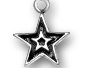 Sterling Silver STAR charm
