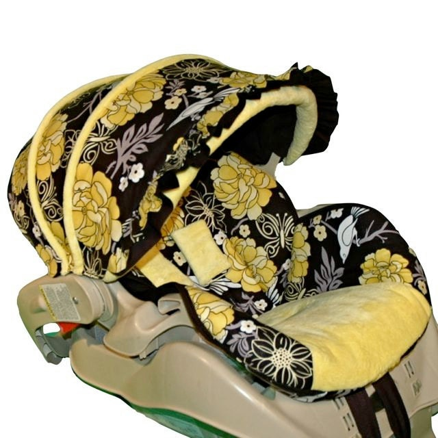 custom replacement baby car seat cover graco snugride 22. Black Bedroom Furniture Sets. Home Design Ideas
