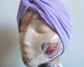 Turban Headband- Twist Knot - Violet