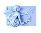 Fairy Soap - Organic Soaps - Decorative Soaps  - Natural Soaps - Glycerin Soap -  Blue Soaps - Moisturizing Soap   -  Essential Oil Vanilla