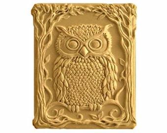 Owl Soap - Organic Soaps - Glycerin Soap - Owls - Birds - Natural Soap - Moisturizing Soaps  - Decorative Soap - Fragrance Oil Honey Almond